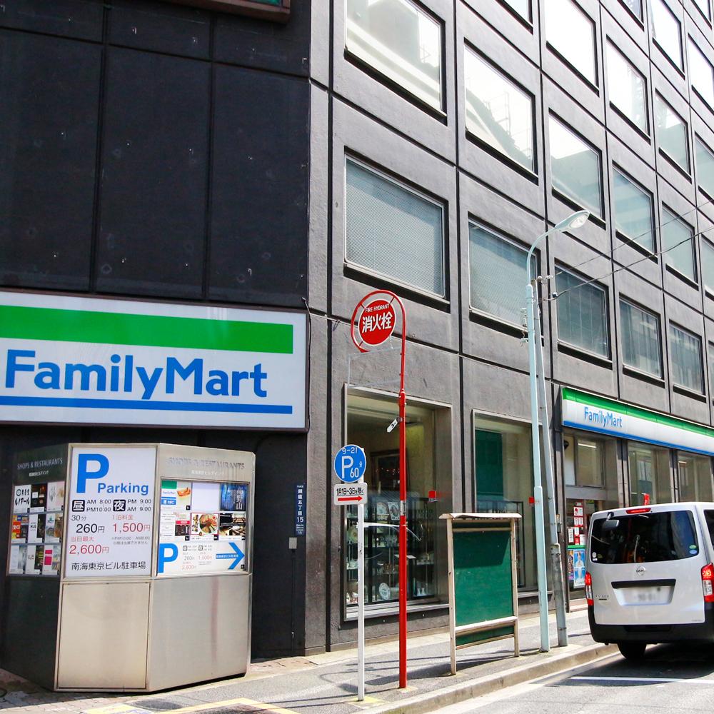 東銀座駅 4番出口からの行き方3