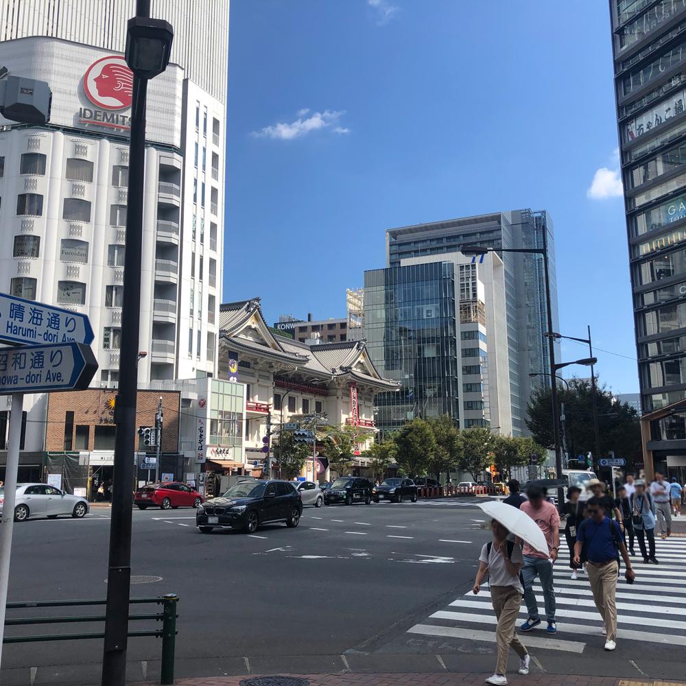 銀座駅からの行き方4
