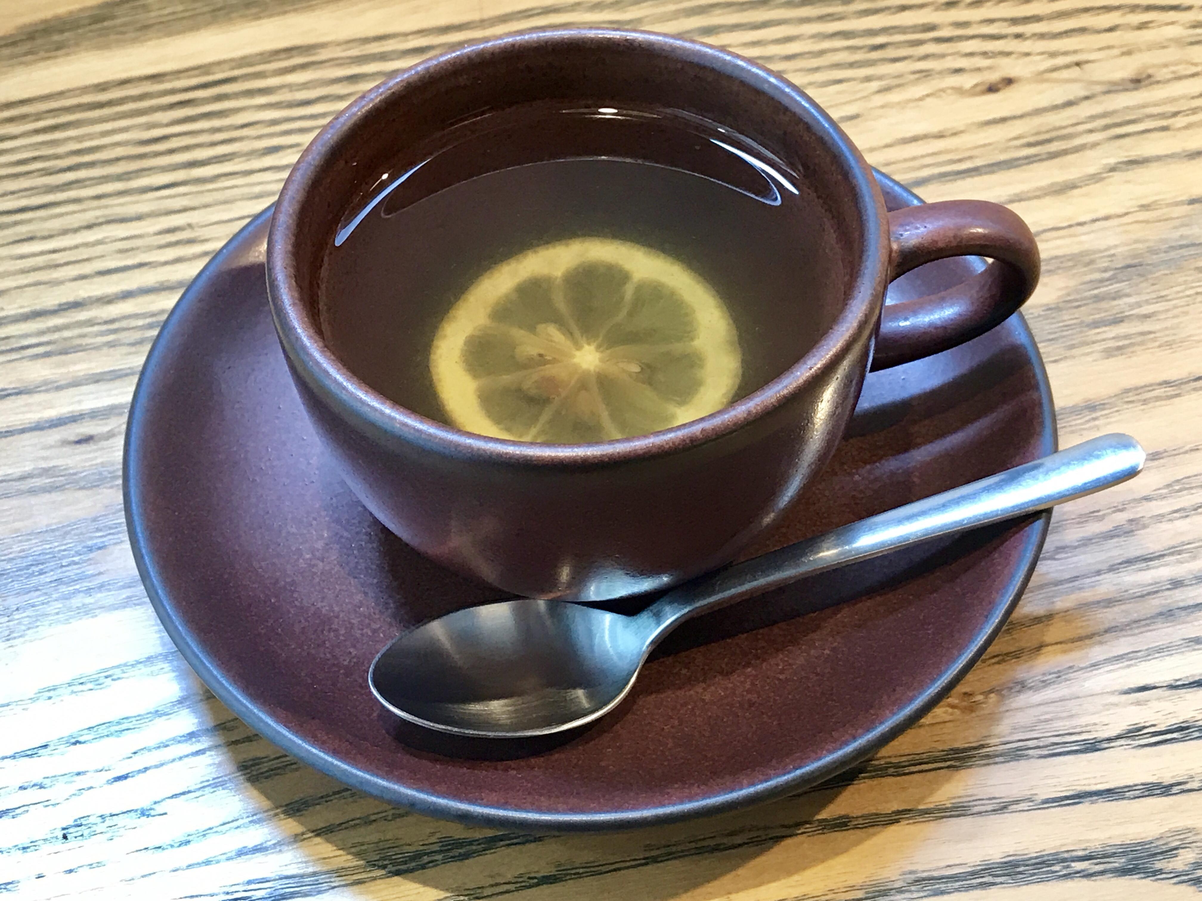 cafe634 ホットレモネード