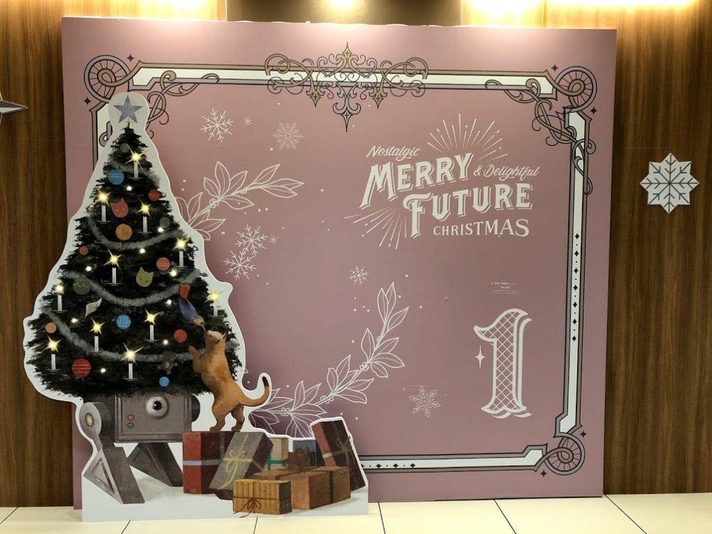 「MERRY FUTURE」銀座三越 銀座 クリスマス