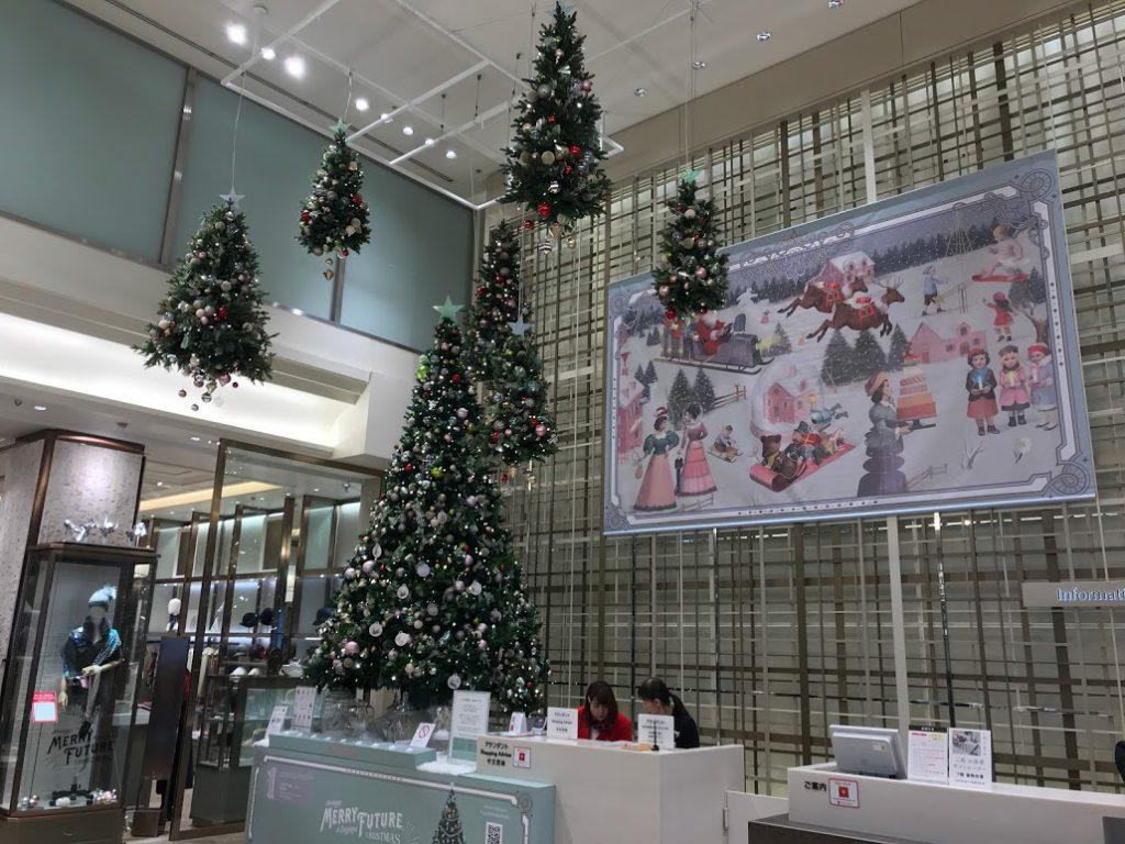 銀座三越 MERRY FUTURE  銀座 クリスマス