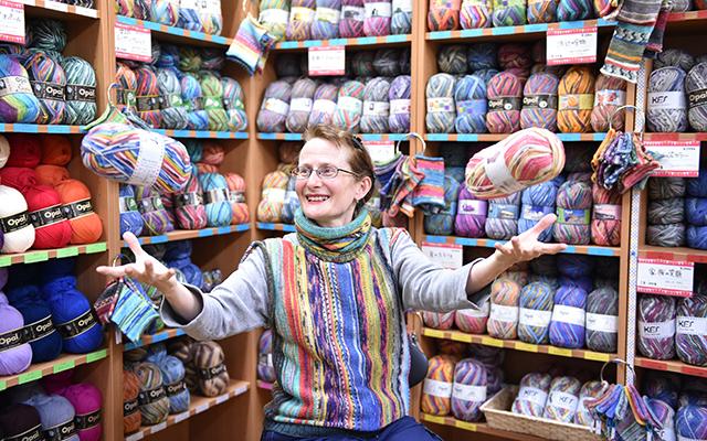 ~しあわせを編む~マルティナさんと魔法の毛糸フェア 銀座 セミナー 講座